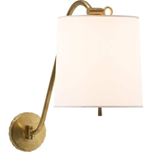 Barbara Barry Understudy 1 Light 10 inch Soft Brass Decorative Wall Light