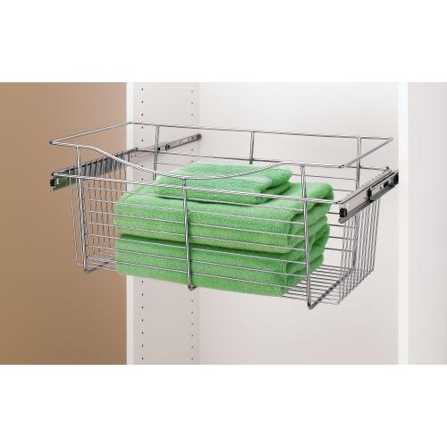 Rev-A-Shelf - CB-241218CR-1 - Closet Pullout Basket