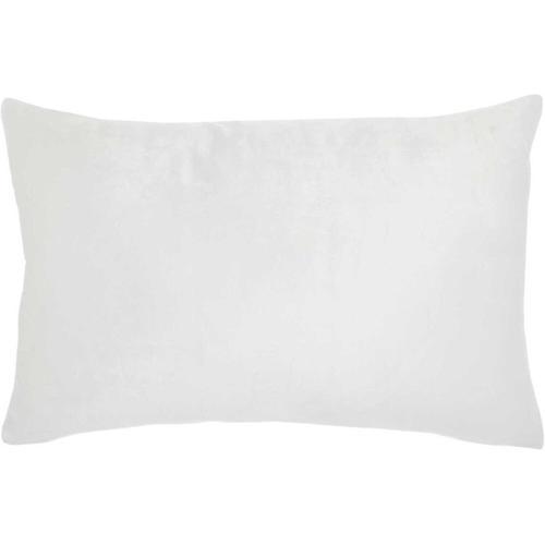 "Life Styles L3003 Ivory 12"" X 18"" Throw Pillow"