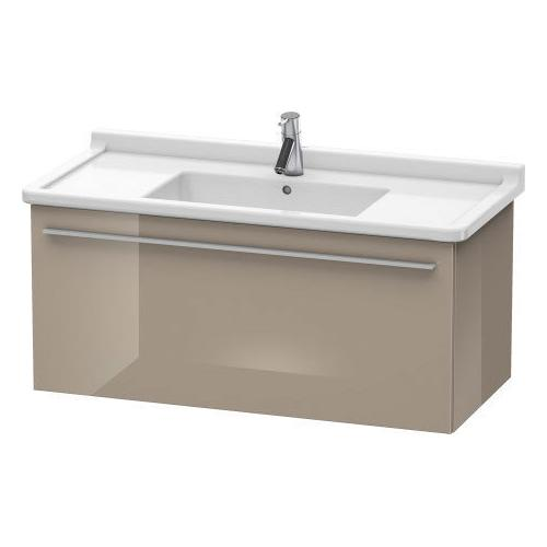 Product Image - Vanity Unit Wall-mounted, Cappuccino High Gloss (lacquer)