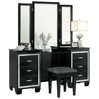 See Details - Vanity Dresser with Mirror
