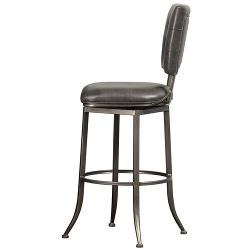 Caslan Commercial Grade Swivel Bar Height Stool