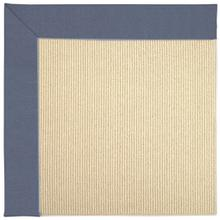 "Creative Concepts-Beach Sisal Canvas Sapphire Blue - Rectangle - 24"" x 36"""
