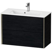 View Product - Vanity Unit Wall-mounted Compact, Black Oak