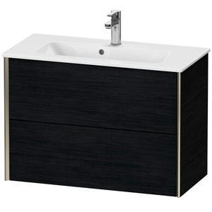 Duravit - Vanity Unit Wall-mounted Compact, Black Oak