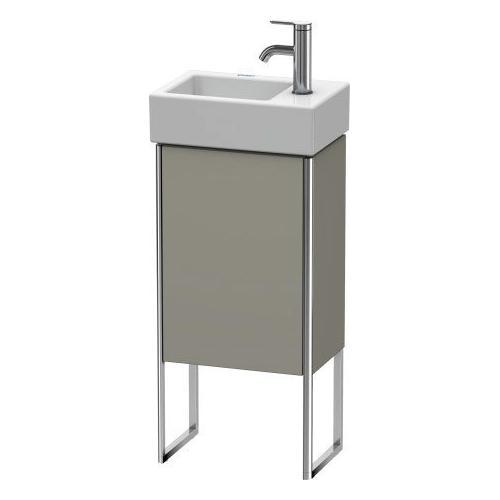 Duravit - Vanity Unit Floorstanding, Stone Gray Satin Matte (lacquer)