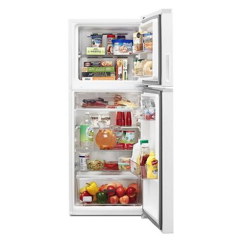 Whirlpool - 24-inch Wide Small Space Top-Freezer Refrigerator - 11.6 cu. ft.