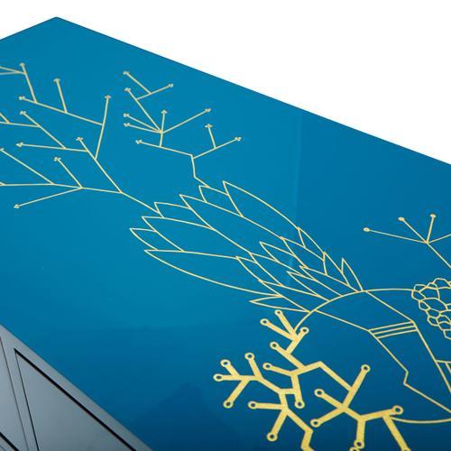 Aqua Coral Cabinet