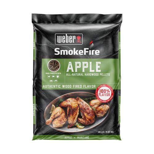 Weber - Apple All-Natural Hardwood Pellets