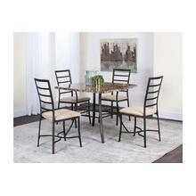 Honey-5pc Dining Set