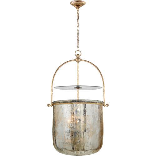 E. F. Chapman Lorford 4 Light 20 inch Gilded Iron Foyer Pendant Ceiling Light