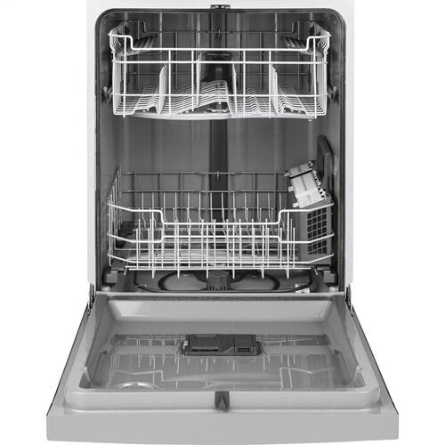Gallery - GE® Front Control with Plastic Interior Dishwasher with Sanitize Cycle & Dry Boost