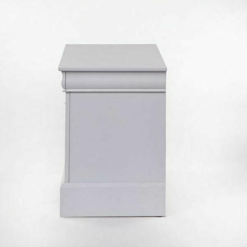 ACME Louis Philippe III Nightstand - 24503 - White