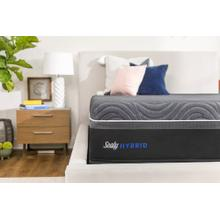 Sealy-Silver Chill Plush Hybrid