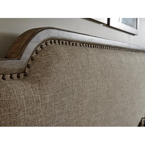 Stone Harbour Upholstered Bed King Headboard
