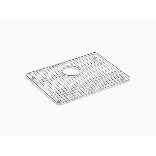 """Stainless Steel Stainless Steel Sink Rack, 19-1/2"""" X 14"""" for Iron/tones Kitchen Sinks"""
