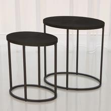 See Details - Striated Accent Table-Graphite-Lg