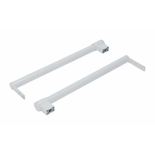 Refrigerator Top Freezer Handle Kit, White
