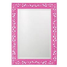View Product - Bristol Mirror - Glossy Hot Pink