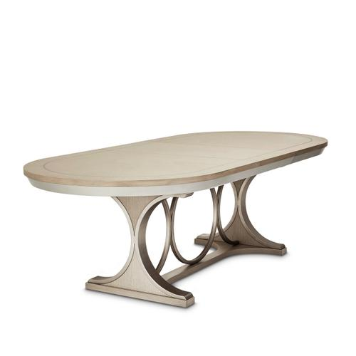 Oval Dining Room Table (2 Pc)