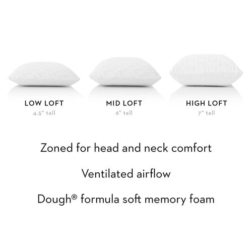 Zoned Dough Queen High Loft Plush