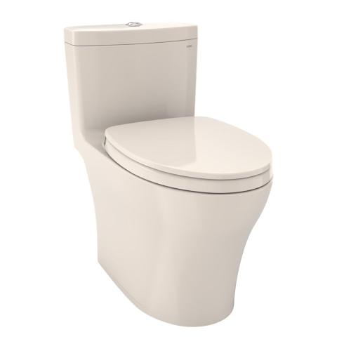 Aquia® IV One-Piece Toilet - 1.28 GPF & 0.8 GPF, Elongated Bowl - WASHLET+ Connection - Sedona Beige
