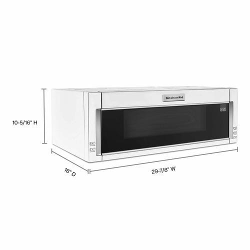 Gallery - 1000-Watt Low Profile Microwave Hood Combination - White