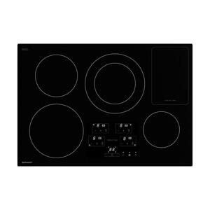 30 in. Width Cooktop, European Black Mirror Finish Made with Premium SCHOTT® Glass -