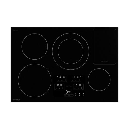 30 in. Width Cooktop, European Black Mirror Finish Made with Premium SCHOTT® Glass