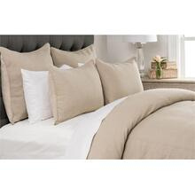 Clarin Natural 3Pc Queen Duvet Set