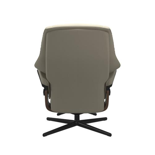 Stressless By Ekornes - Stressless® Live (S) Cross Chair with Ottoman