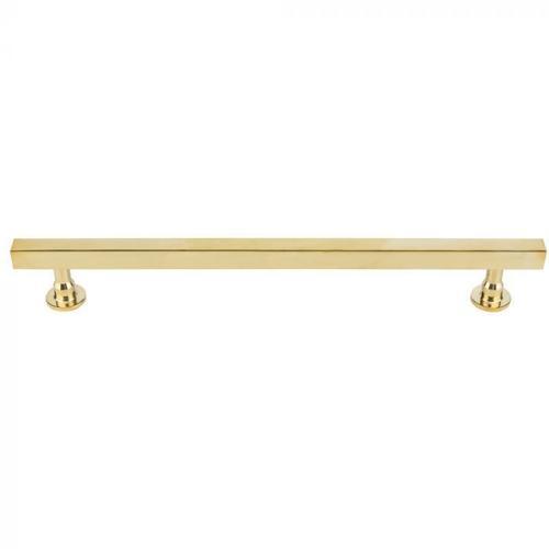 Vesta Fine Hardware - Dante Appliance Pull 18 Inch (c-c) Unlacquered Brass Unlacquered Brass