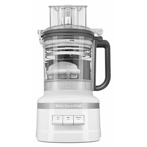 KitchenAid - 13-Cup Food Processor with Dicing Kit - White