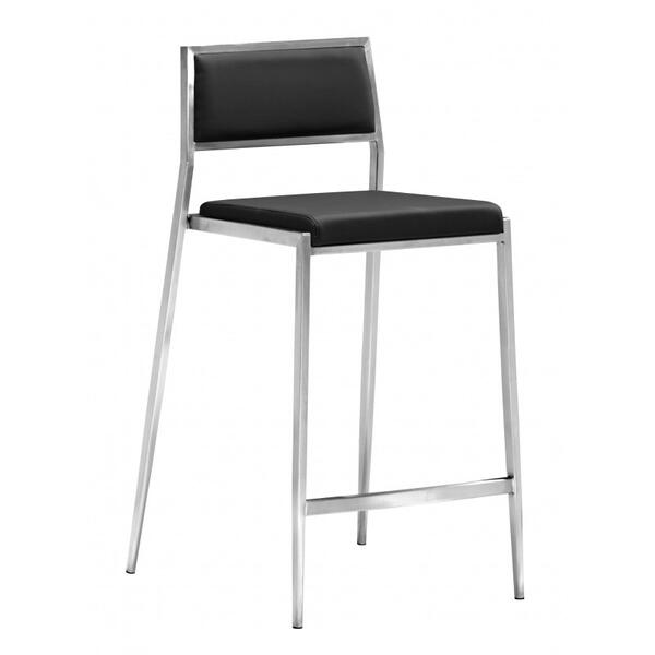 Dolemite Counter Chair Black