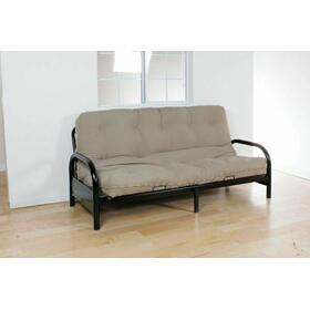 "ACME Nabila Full Futon Mattress - 02808KHAKI - 8""H - Khaki"