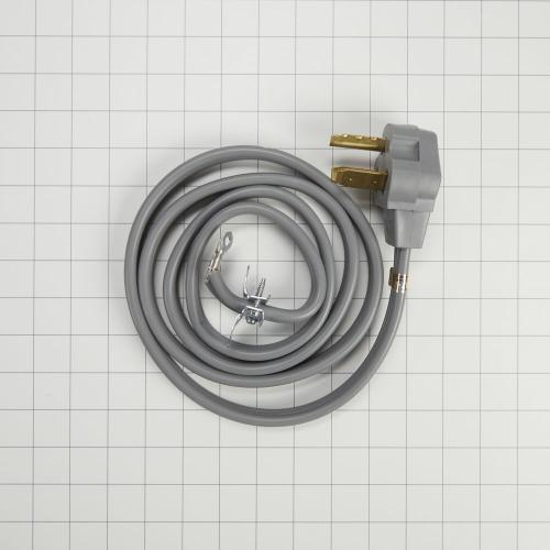 Whirlpool - Electric Dryer Power Cord