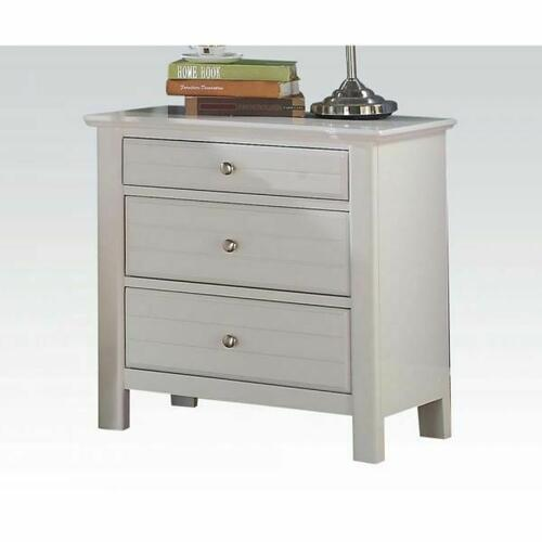 ACME Mallowsea Nightstand - 30423 - White