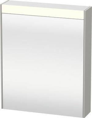Mirror Cabinet, Concrete Gray Matte (decor) Product Image