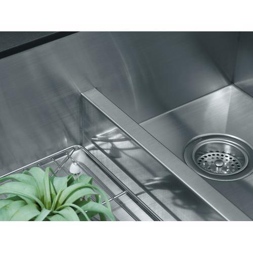 "35-1/2"" X 21-1/4"" X 9-5/16"" Smart Divide Undermount Double-bowl Large/medium Farmhouse Kitchen Sink for 36"" Cabinet"