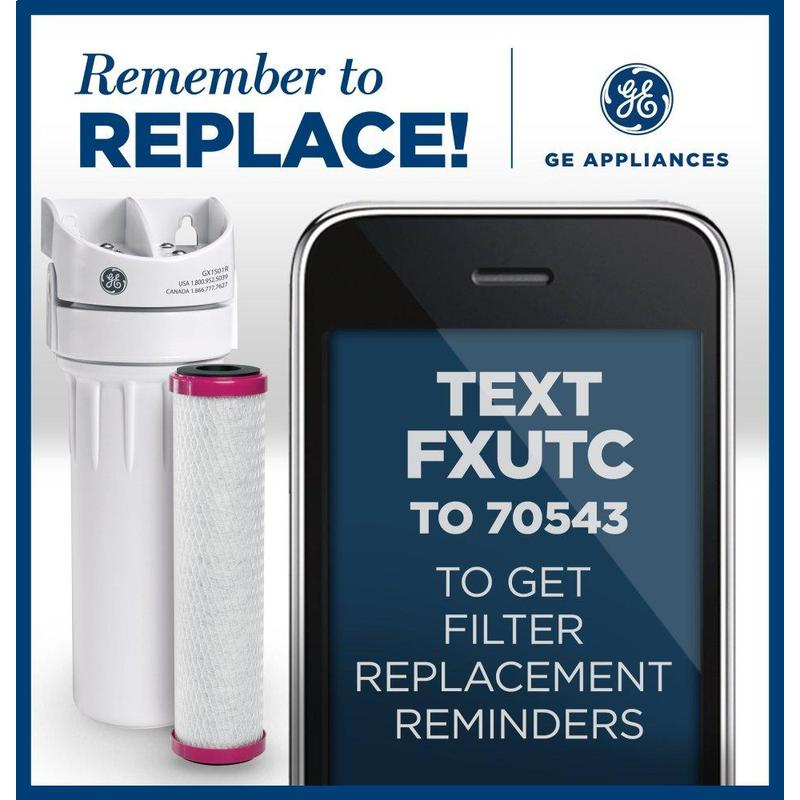 Replacement Water Filter - Single Stage Undersink System