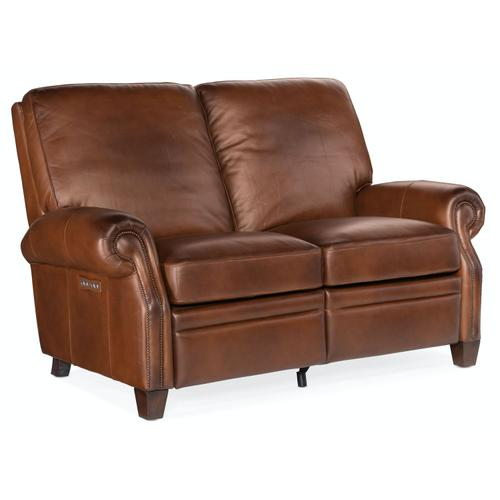 Living Room Sapindale Power Recline Loveseat w/ Power Headrest