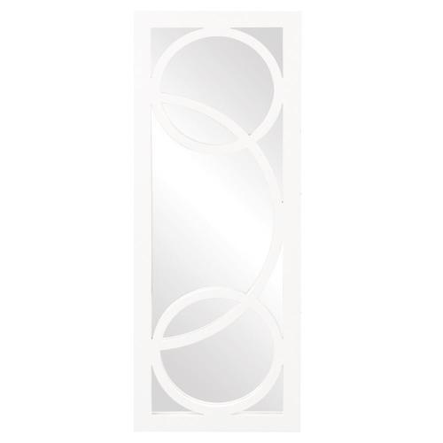 Howard Elliott - Dynasty Mirror - Glossy White