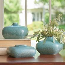 See Details - Modernist Vase-Azure-Tall