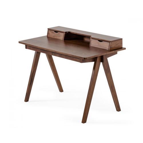 VIG Furniture - Modrest Boyce - Modern Walnut Desk