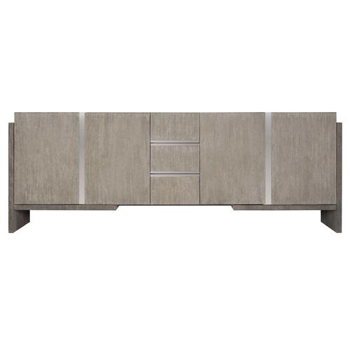 Foundations Entertainment Credenza in Light Shale (306), Dark Shale (306)