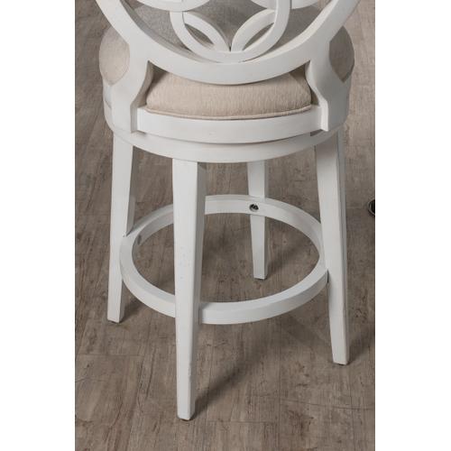 Savona Swivel Counter Stool - White