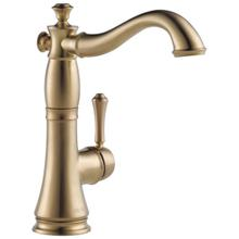 Champagne Bronze Single Handle Bar / Prep Faucet