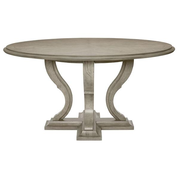 See Details - Marquesa Round Dining Table in Gray Cashmere (359)