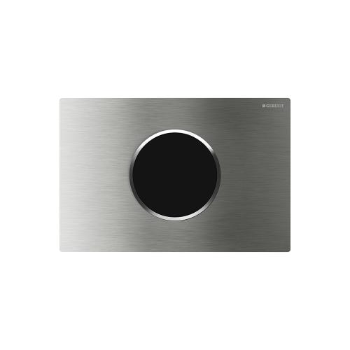 Sigma10 Flush plates for Sigma series in-wall toilet systems Brushed stainless steel with polished accent Finish 2x6 in-wall system Compatibility