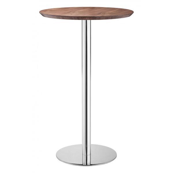 See Details - Bergen Bar Table Walnut